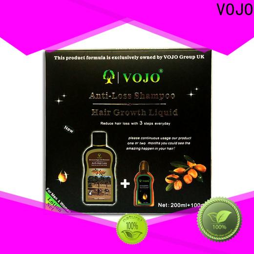 VOJO Custom anti hair fall shampoo suppliers for salon