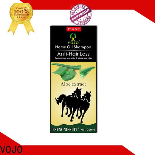 VOJO oil anti hair loss shampoo factory for woman