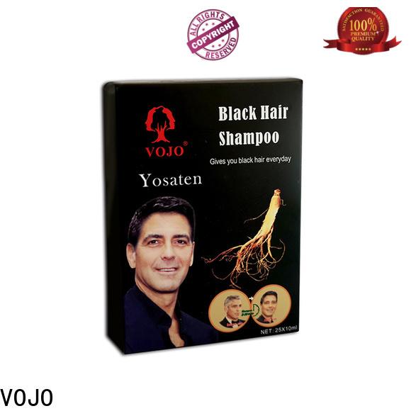 VOJO High-quality hair dye shampoo factory for man