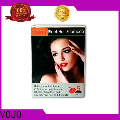 VOJO Custom hair colour shampoo company for man