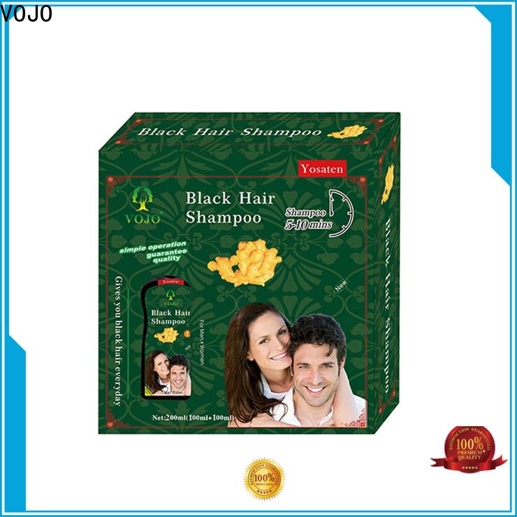 VOJO hiar beard dye shampoo factory for adult