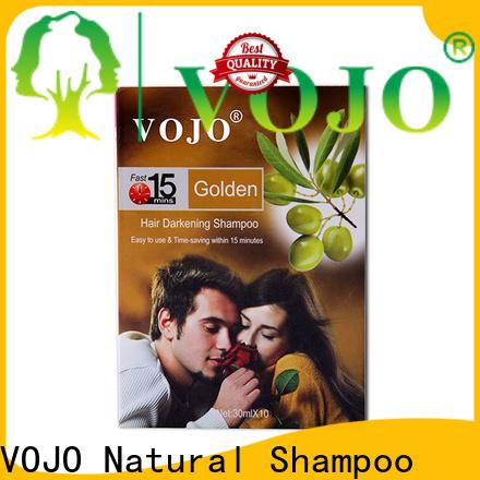 VOJO healthy beard dye shampoo company for salon