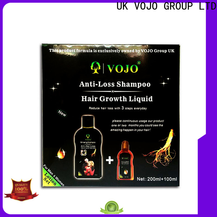 VOJO Top hair growth shampoo suppliers for salon