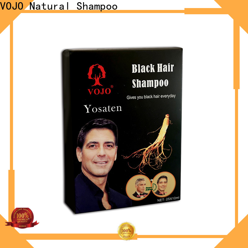 VOJO mins hair colour shampoo company for man