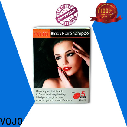 VOJO brand hair dye shampoo suppliers for adult