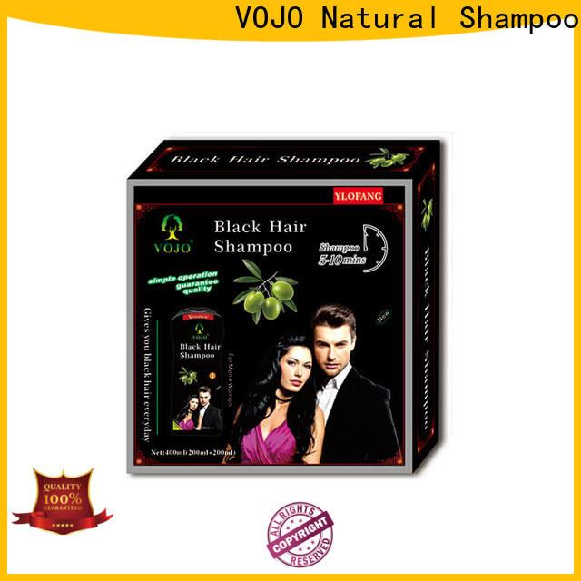 VOJO fast beard dye shampoo supply for man