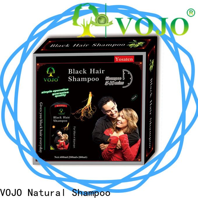 VOJO shampoo hair colour shampoo supply for man