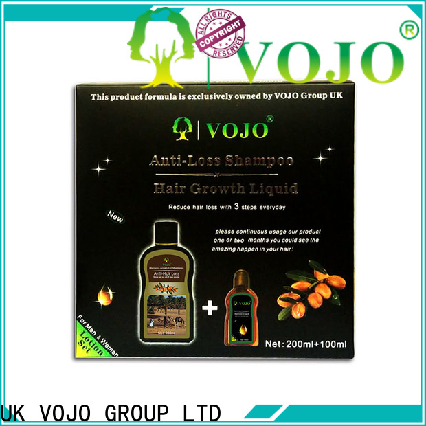 VOJO chinese anti hair fall shampoo manufacturers for man
