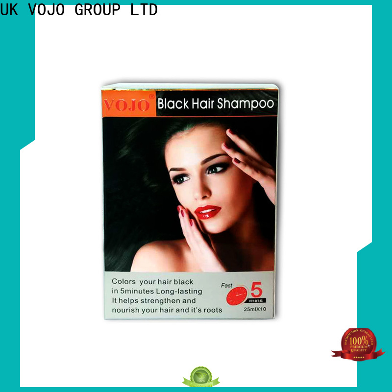 VOJO High-quality hair colour shampoo company for woman