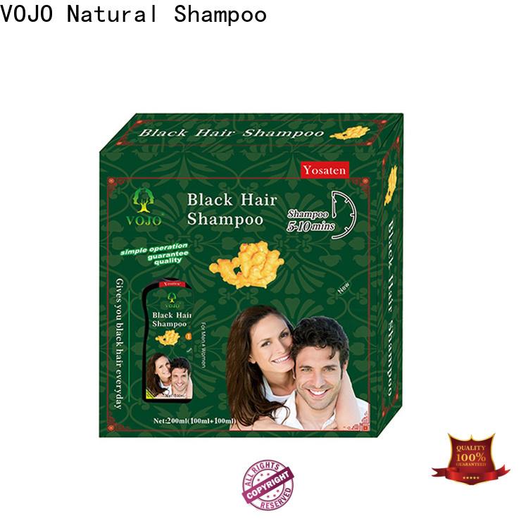 VOJO Wholesale beard dye shampoo for business for woman