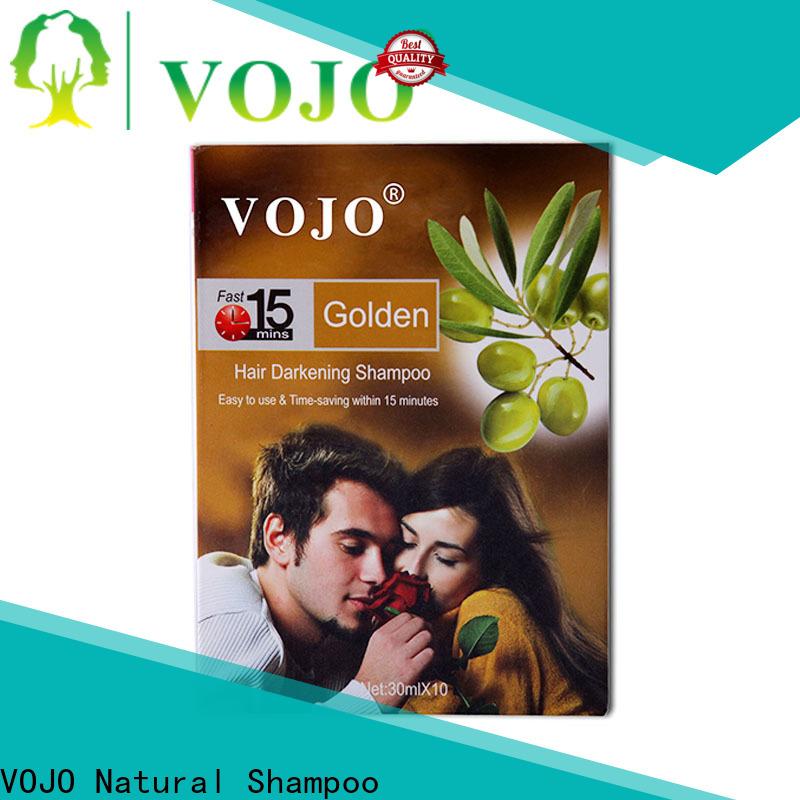 VOJO change hair dye shampoo company for woman