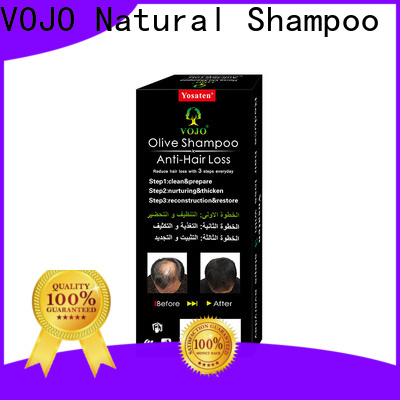 VOJO Custom anti hair fall shampoo factory for adult