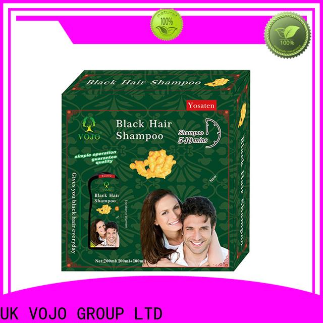 VOJO instant beard dye shampoo supply for salon