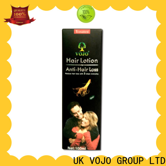 New hair growth shampoo label company for girls
