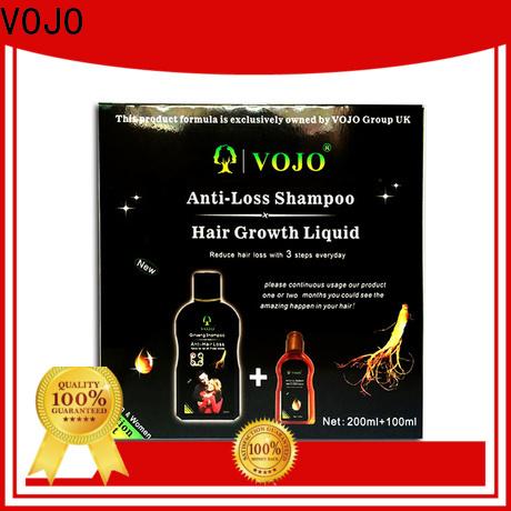 VOJO Best anti hair fall shampoo factory for salon