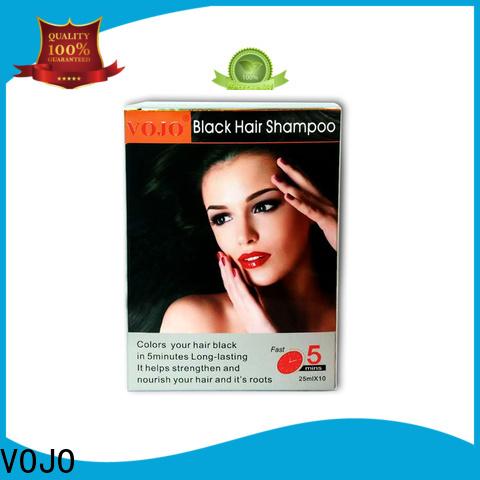 VOJO Wholesale beard dye shampoo company for girls