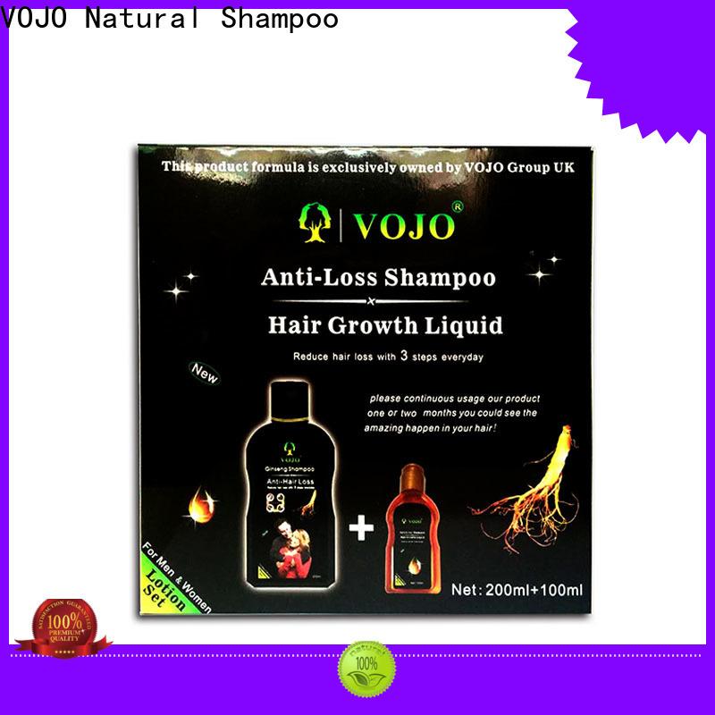 VOJO Custom hair growth shampoo for business for salon