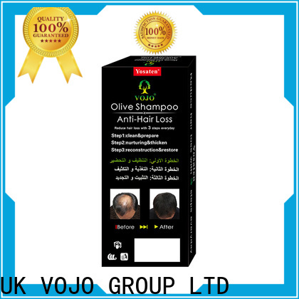 VOJO Custom hair growth shampoo factory for adult