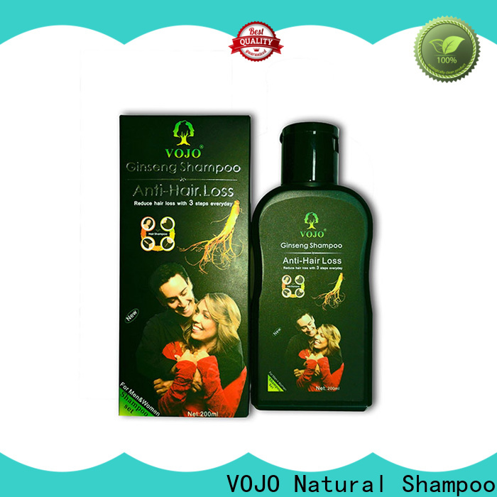 VOJO label hair growth shampoo for sale for girls