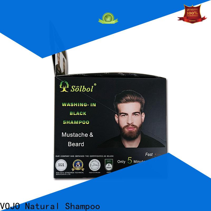 VOJO coverage beard dye shampoo manufacturers for salon