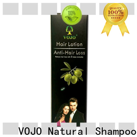 VOJO support hair growth shampoo company for woman