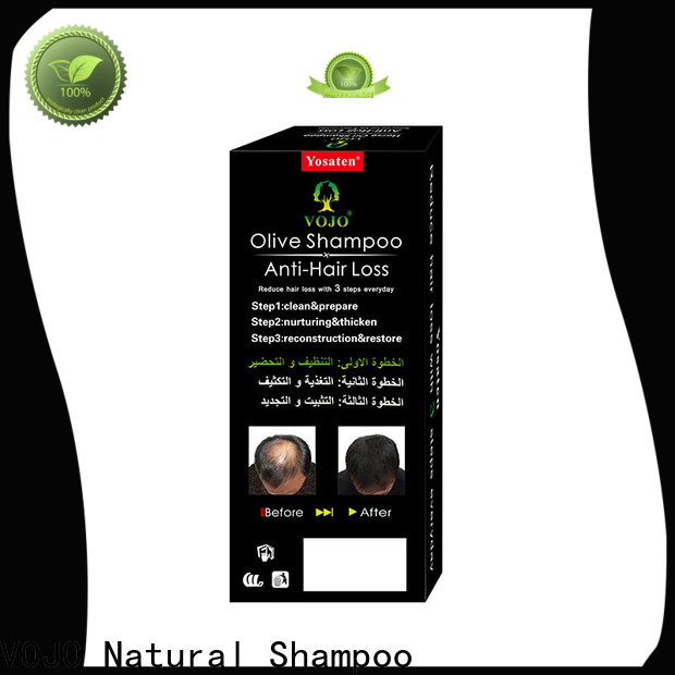 VOJO Wholesale anti hair fall shampoo factory for adult