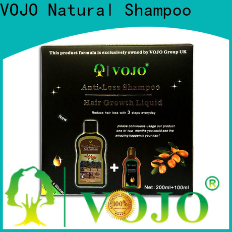 VOJO oil hair growth shampoo factory for girls
