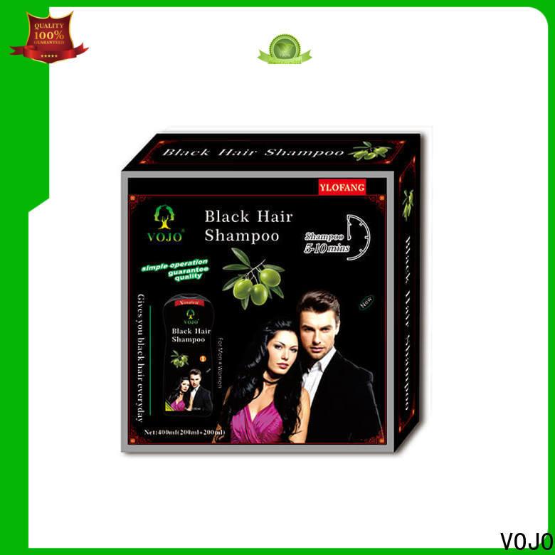 Custom hair colour shampoo black suppliers for man