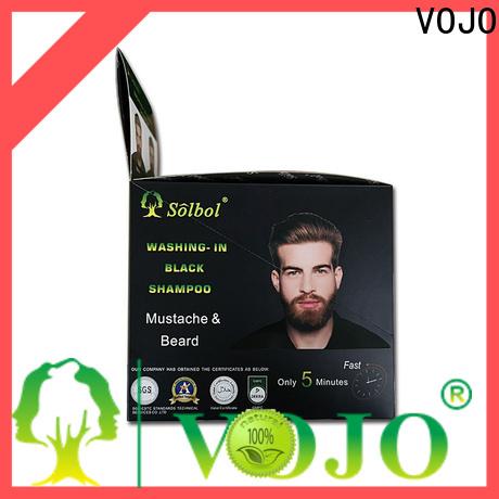 VOJO High-quality beard dye shampoo for business for woman