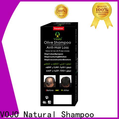 VOJO sulfate anti hair loss shampoo factory for man
