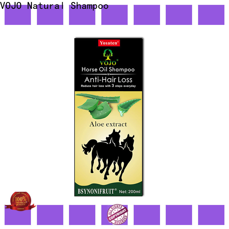 Latest anti hair loss shampoo selling factory for adult