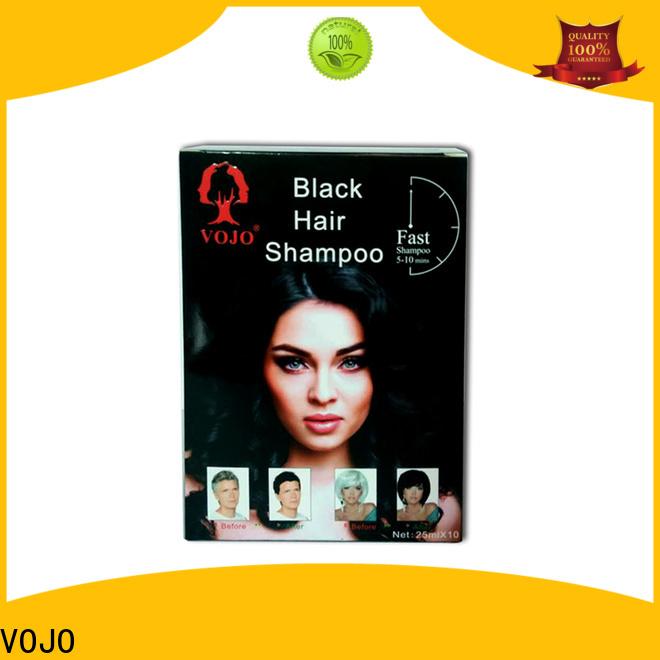 VOJO Wholesale hair colour shampoo for sale for woman