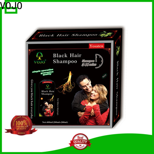 VOJO gery hair colour shampoo company for girls