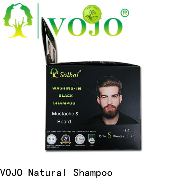 VOJO New hair colour shampoo factory for salon