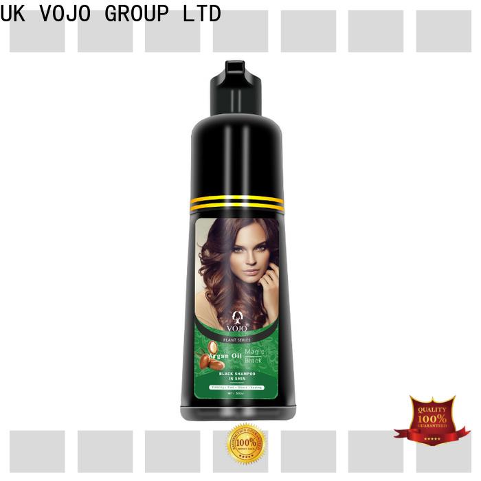 VOJO oem beard dye shampoo supply for salon