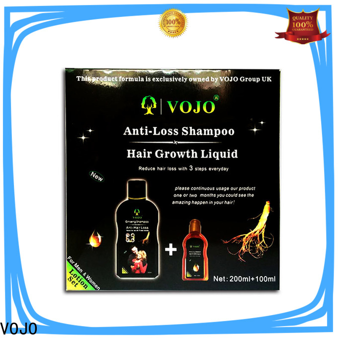 VOJO thinning anti hair loss shampoo for sale for adult