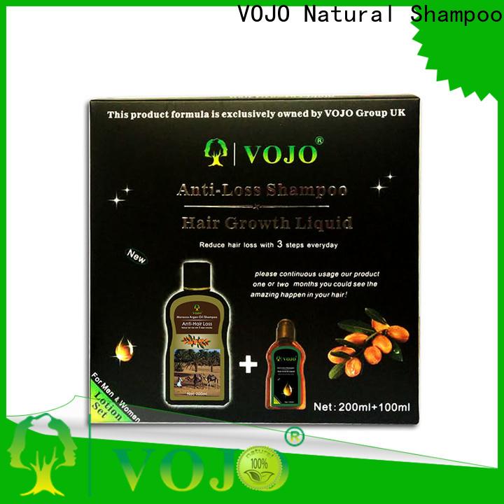 VOJO Custom anti hair fall shampoo suppliers for adult