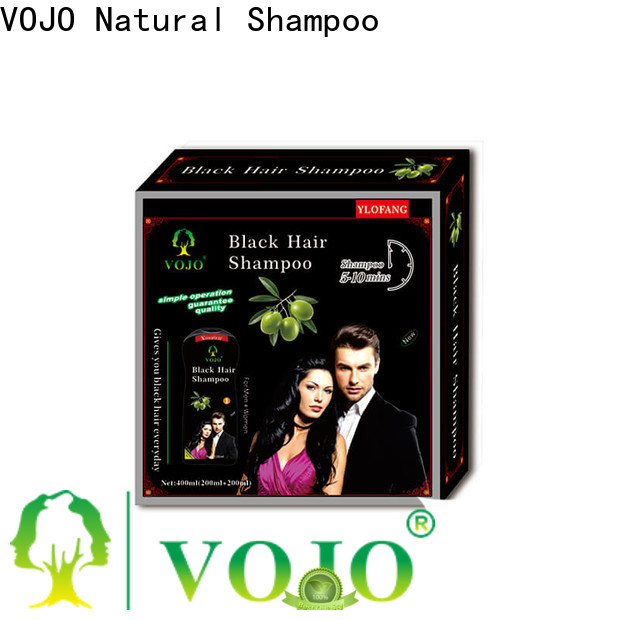 VOJO New hair dye shampoo factory for adult