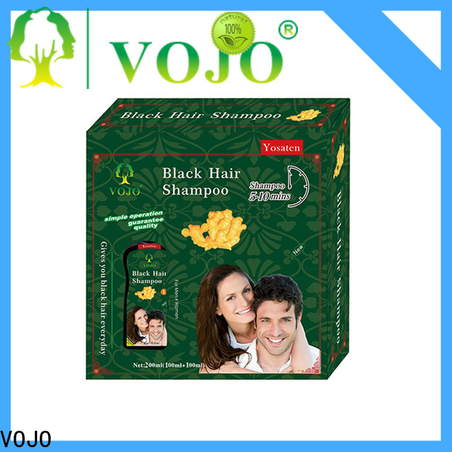 Wholesale beard dye shampoo vojo for business for man