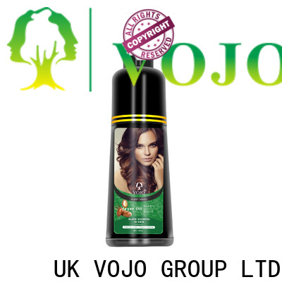 VOJO odm hair colour shampoo for business for man