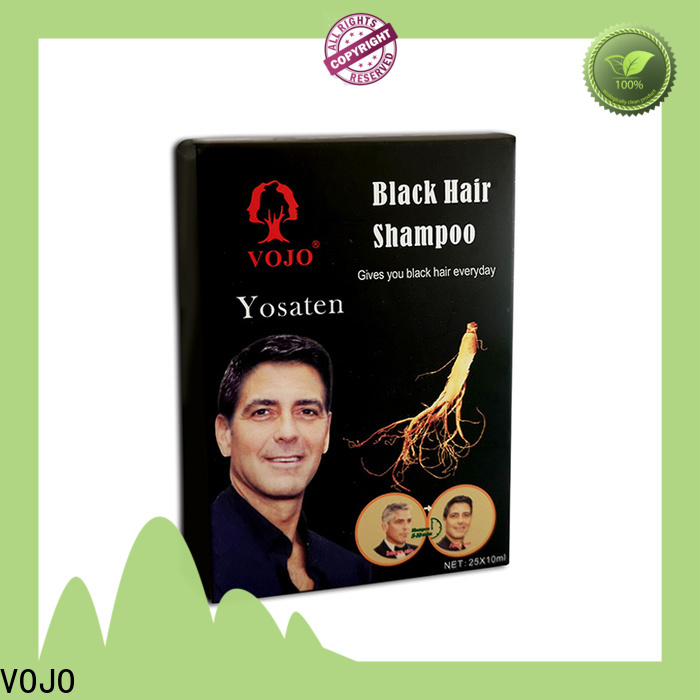 New hair colour shampoo herbal factory for man