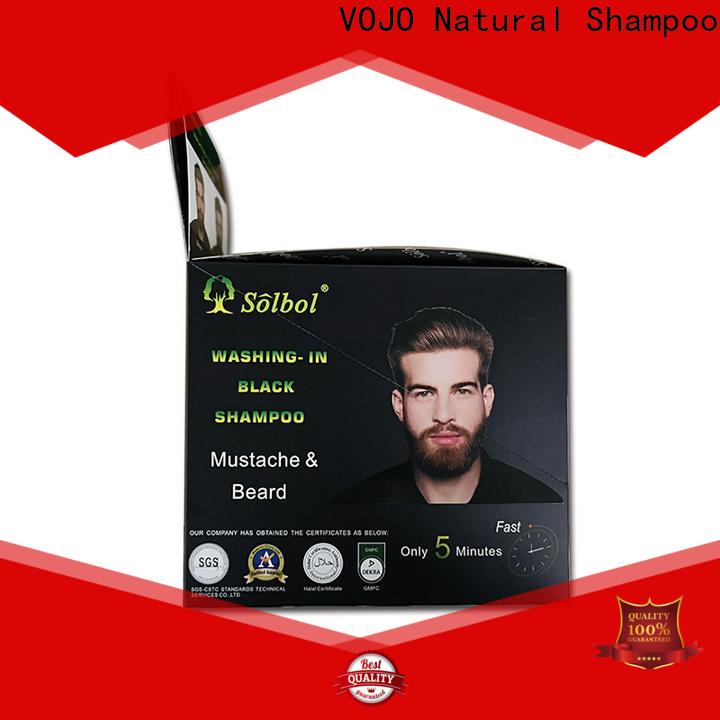 VOJO dye beard dye shampoo for sale for man