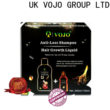 VOJO olive anti hair loss shampoo company for adult