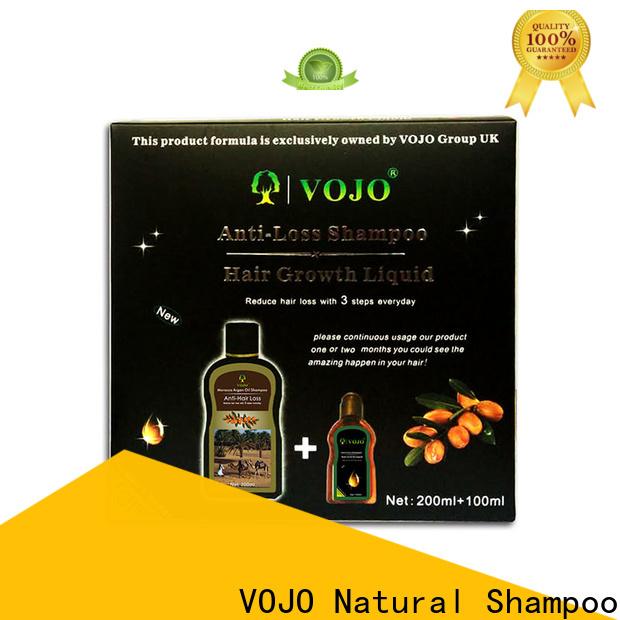 VOJO Wholesale hair growth shampoo suppliers for salon