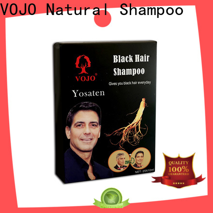 VOJO Latest hair dye shampoo for business for adult