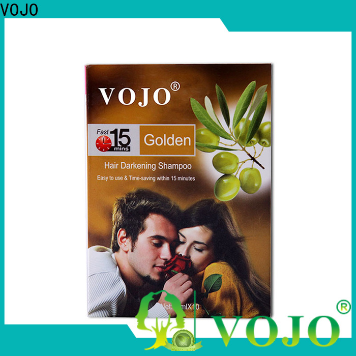 VOJO market hair colour shampoo suppliers for adult