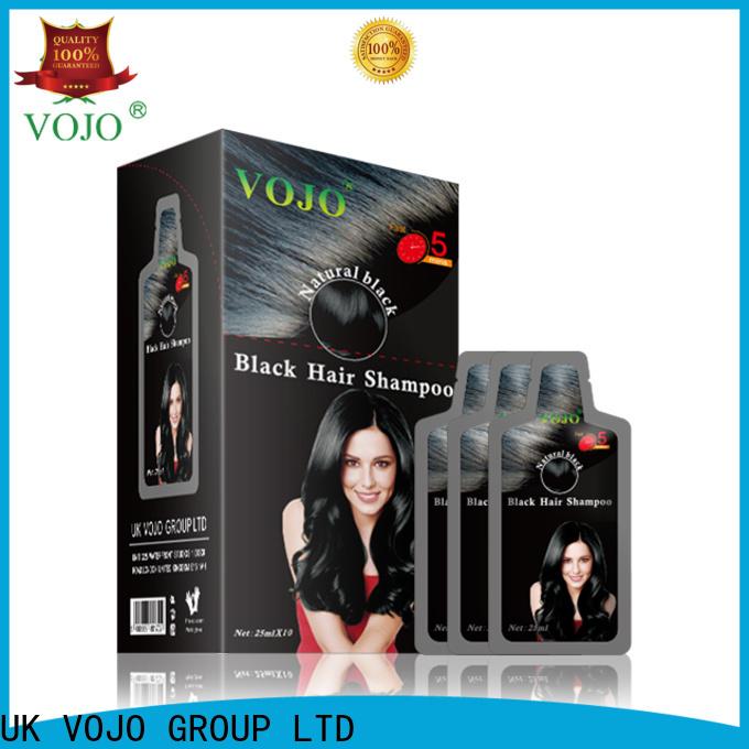VOJO natural beard dye shampoo factory for woman