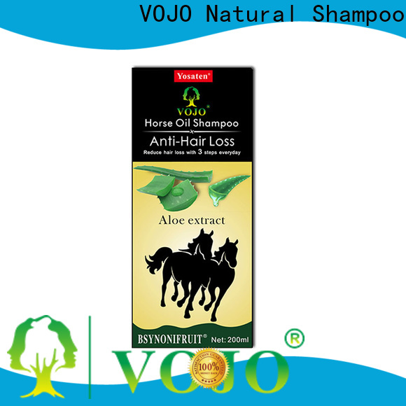 VOJO promotes hair growth shampoo factory for adult