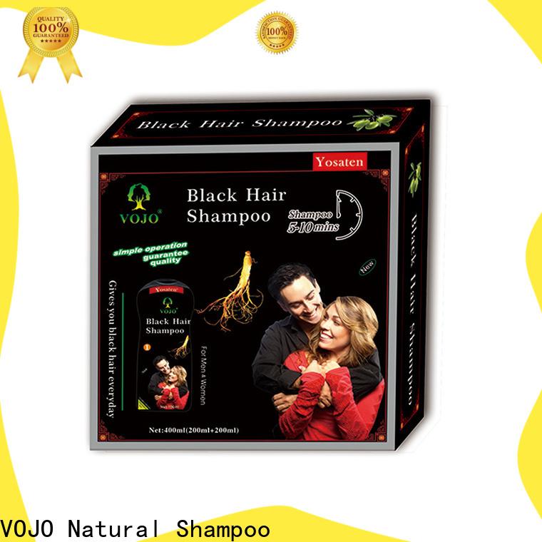 VOJO Wholesale beard dye shampoo factory for adult
