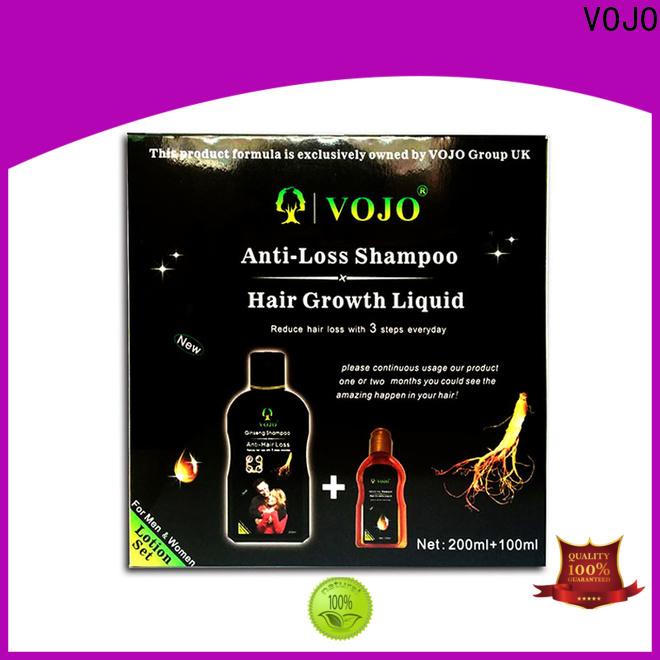 VOJO stimulating anti hair fall shampoo factory for adult